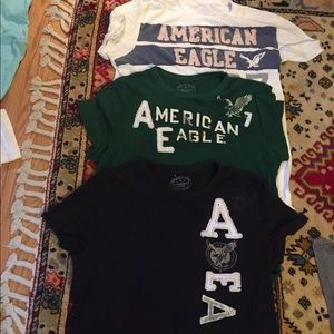 American Eagle AE t-shirt bundle